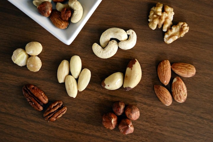 nuts-vegan-protein-sources