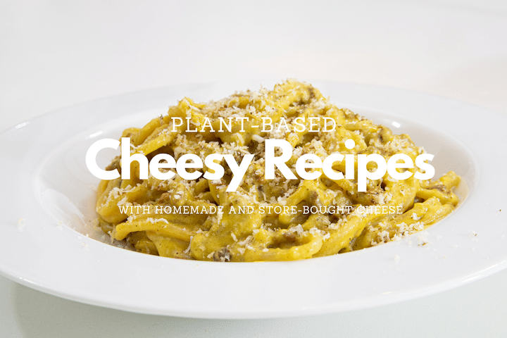 cheesy recipes graphic